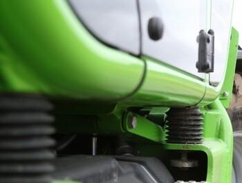 Grøn førerkomfort fra Italien