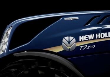 Ny New Holland T7-serie er snart klar