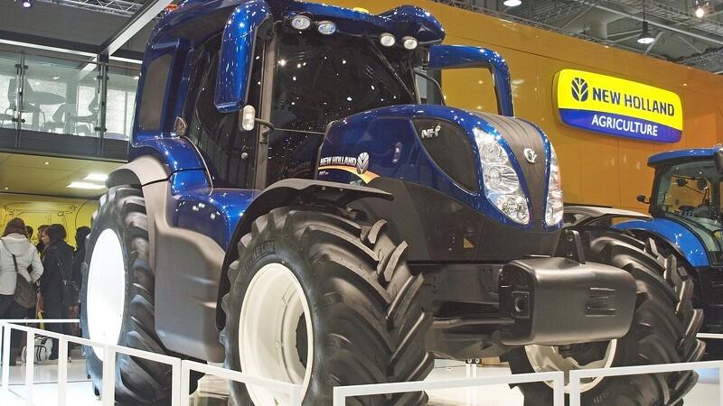 Ny Hydrogen traktor har højere effekt