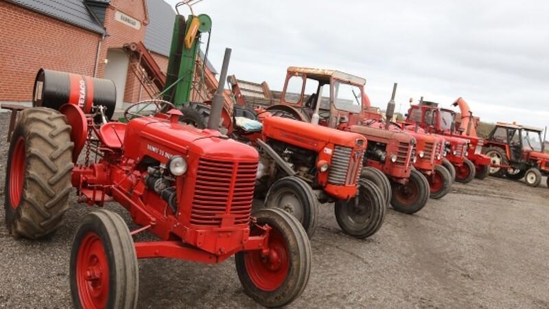 Gamle danske maskiner i aktion