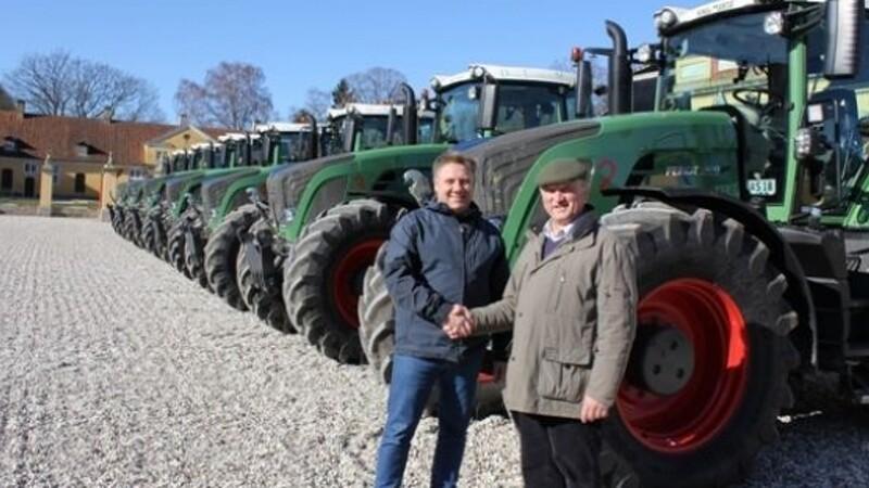 Storhandel: Syv Fendt-traktorer
