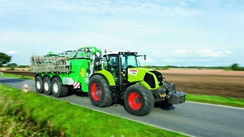 Claas advarer bilister om landbrugsmaskiner