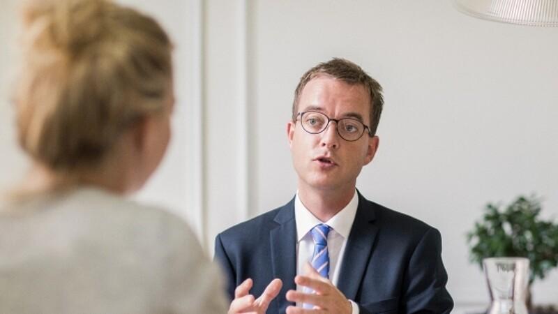 Esben Lunde Larsen vil se på rammerne for landbrugets fonde