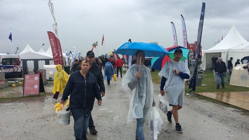 Regnfuld åbningsdag på Borgeby