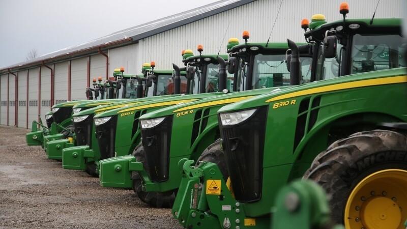 Endnu et GPS-tyveri fra John Deere-traktorer