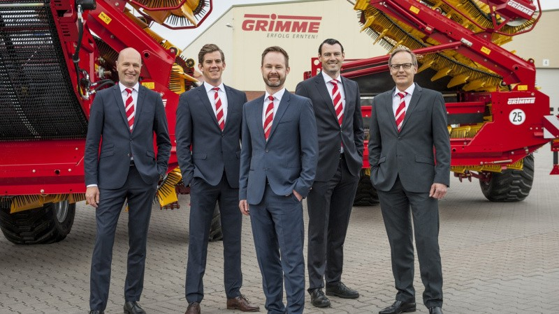 Grimme får ny ledelsesstruktur