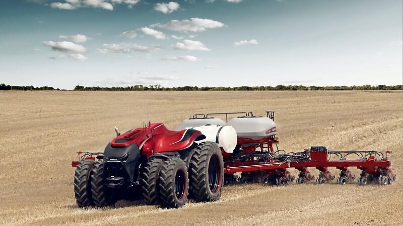 Selvkørende traktor fra Case IH
