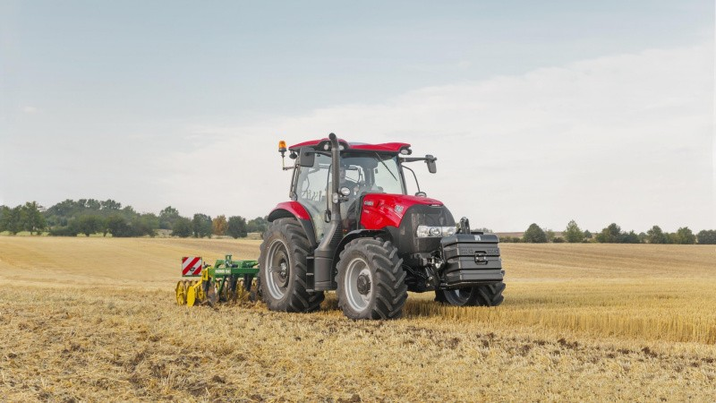 De nyeste traktorer fra Case IH i arbejdstøjet