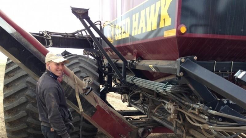 Jens byttede landbrugsmaskinen for en helikopter i USA