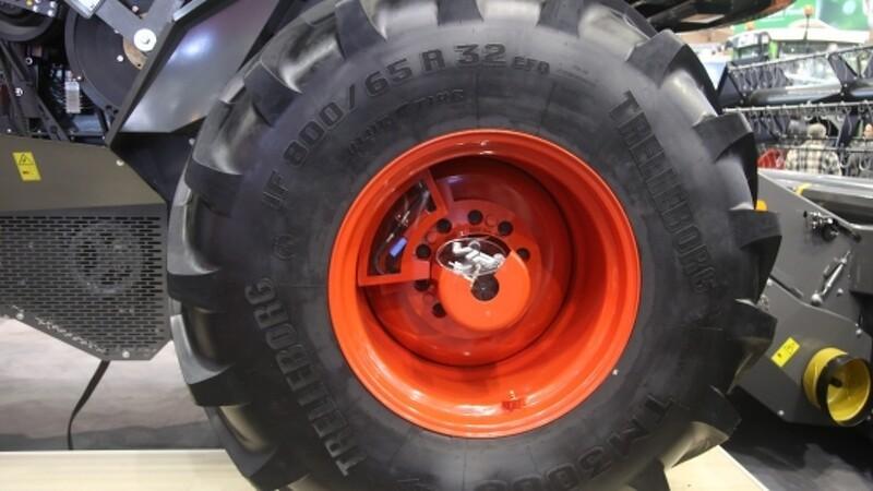 Dæktrykket reguleres automatisk
