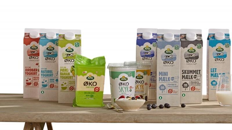 Arla vil sælge 50 procent flere økologiske mejeriprodukter