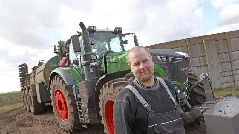Demo-traktor imponerer
