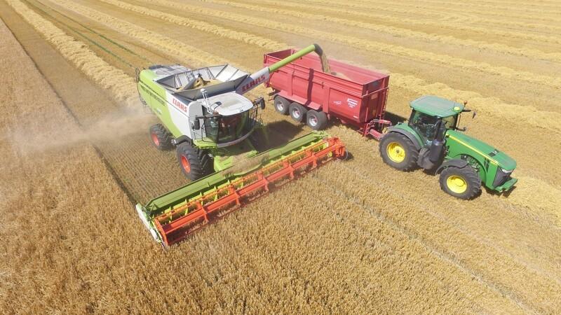 Løbende overblik over afgrøderne fra mobilen