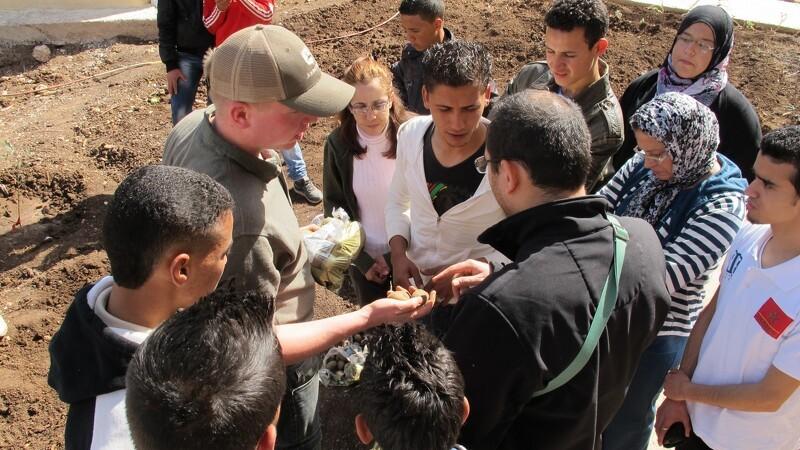 LandboUngdom gør klar til besøg fra Marokko på Bornholm