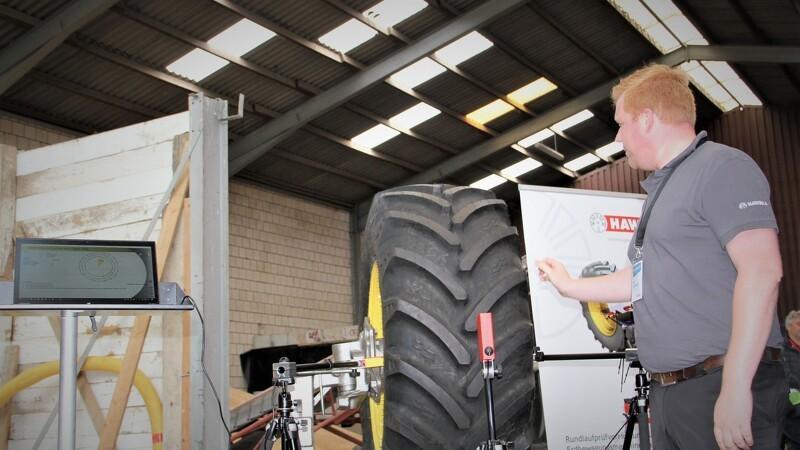 Bedre hjulbalance på landbrugs- og entreprenørmaskiner