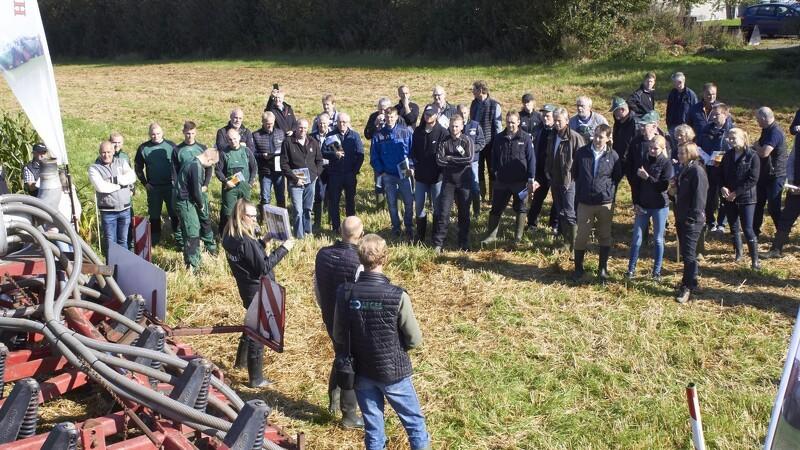150 besøgende blev klogere på majs og græs