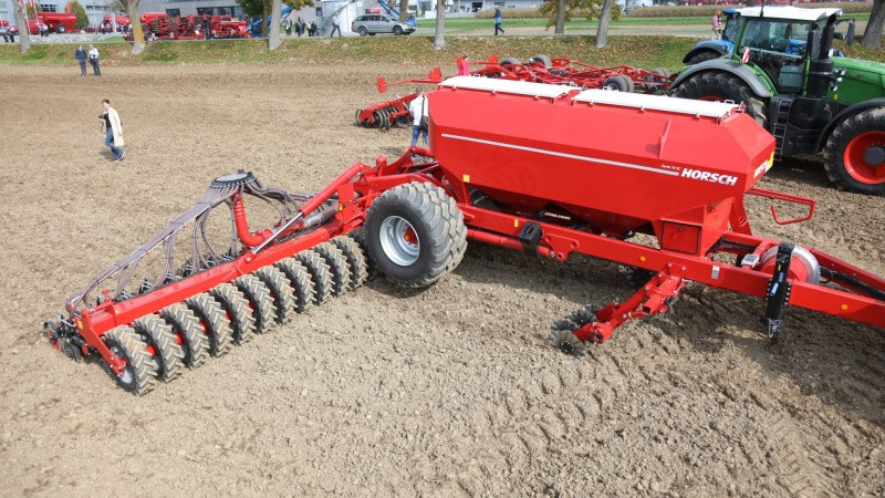 12 meter såmaskine uden jordbearbejdning
