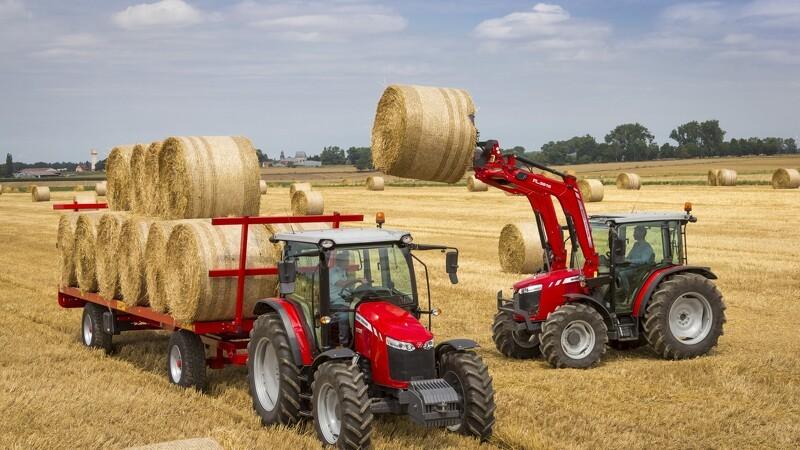 MF lancerer to nye tre-cylindrede traktorer