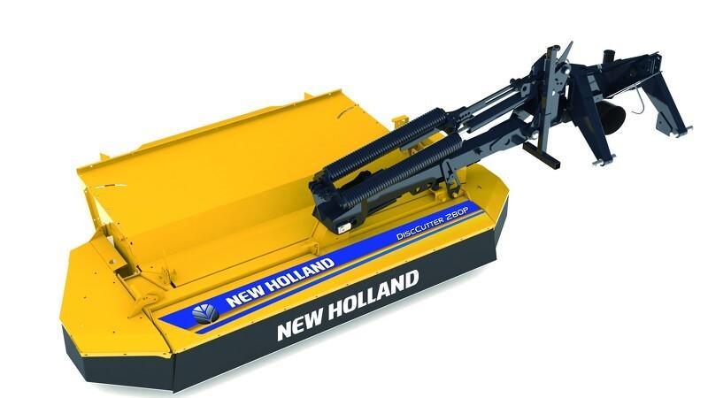 Nu lancerer New Holland blå og gule redskaber
