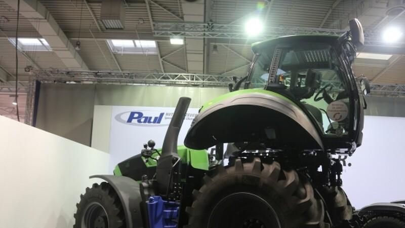 Vendbar kabine på alle traktorer