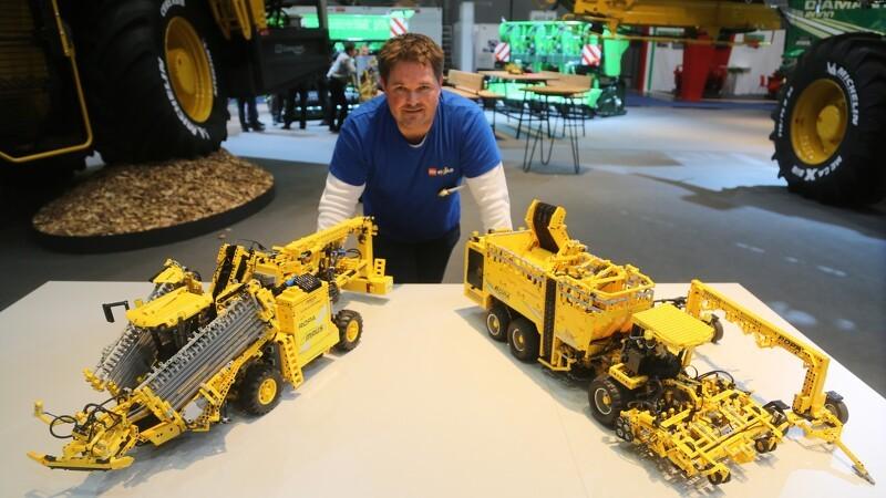15.000 Lego klodser i to Ropa-modeller