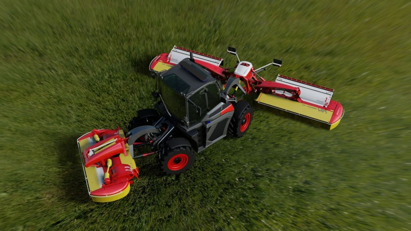 Multitraktor med fuldautomatik