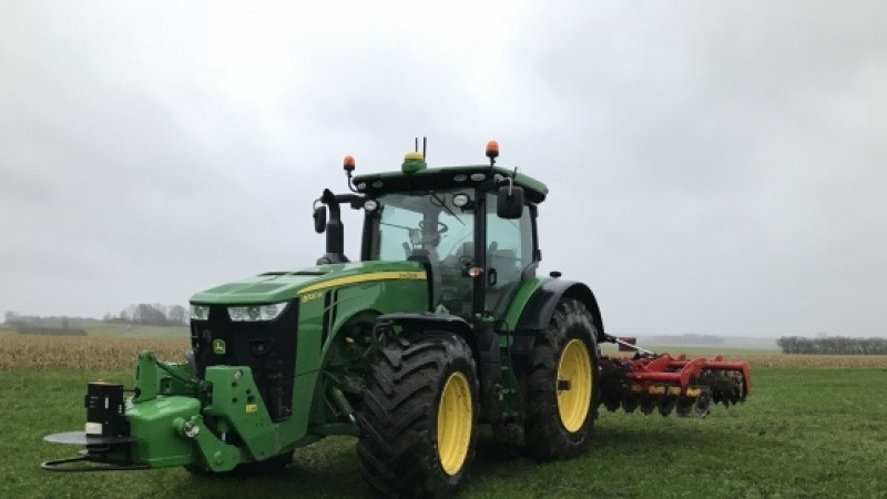 Største selvkørende John Deere-traktor