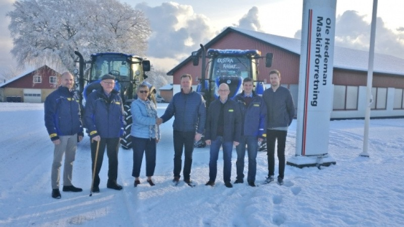 Farmas på plads i Østhimmerland