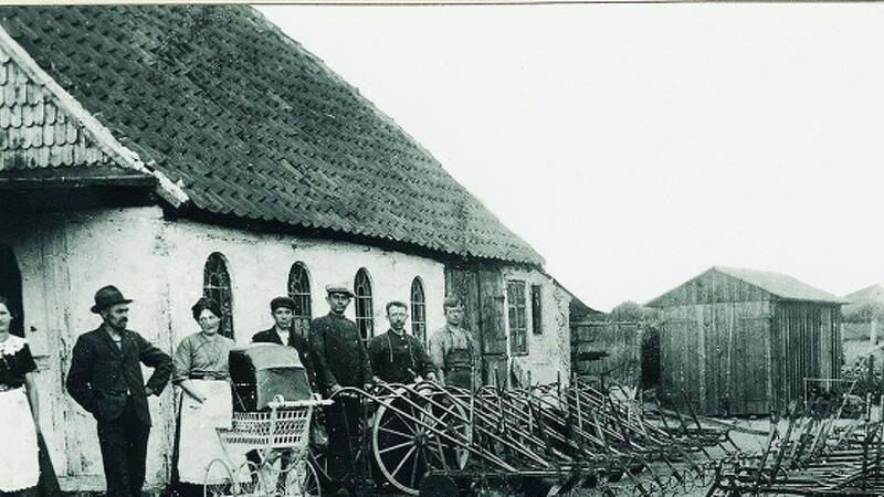 140 år med landbrugsmaskiner i Kerteminde