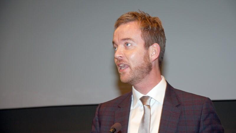 Esben Lunde Larsen gæster svineproducenterne