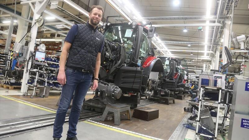 Over 40 Valtra-kunder i Finland