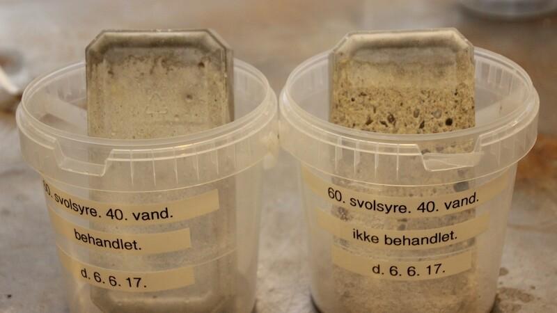 Spar formue på reparation af gylletanken