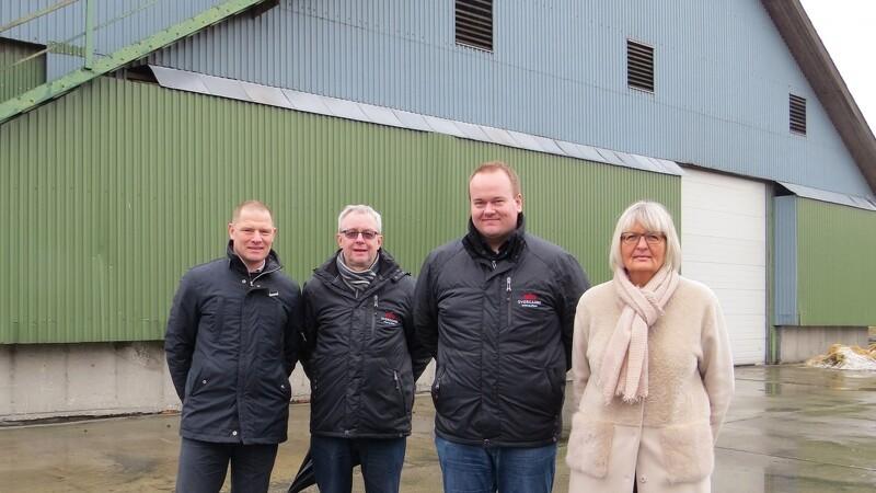 Overgaard etablerer kornlager på Kostervig på Møn