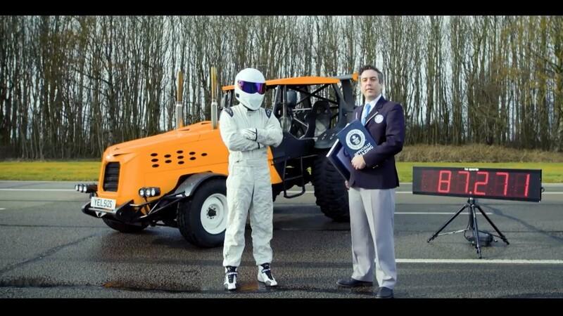 Verdens hurtigste traktor er nu engelsk