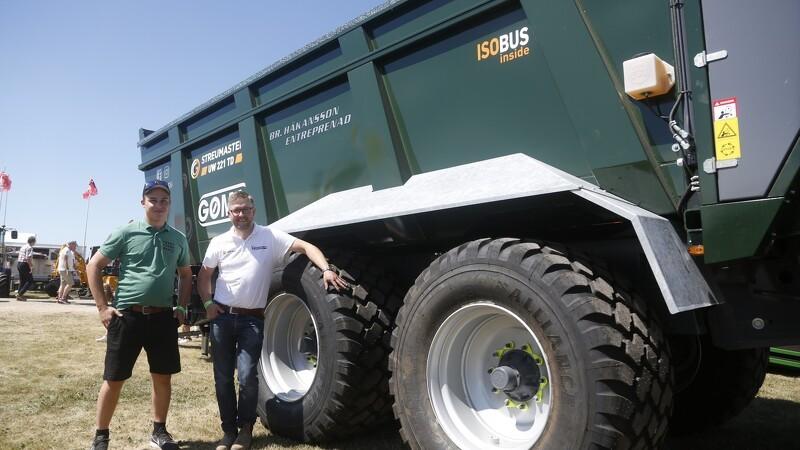 40.000 ton skal igennem sprederen på én sæson