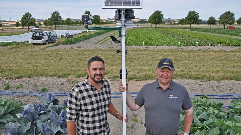Landbruget får vejrstation på Lammefjorden