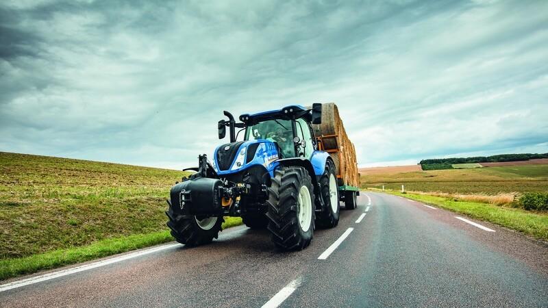 New Holland: Bremsesystem giver klassens bedste sikkerhed og stabilitet
