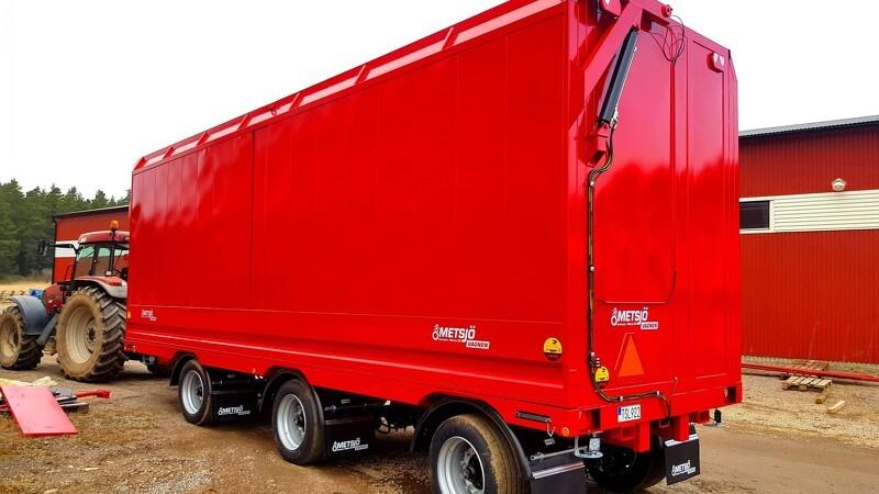 Metsjö lancerer ni meter lukket transportvogn