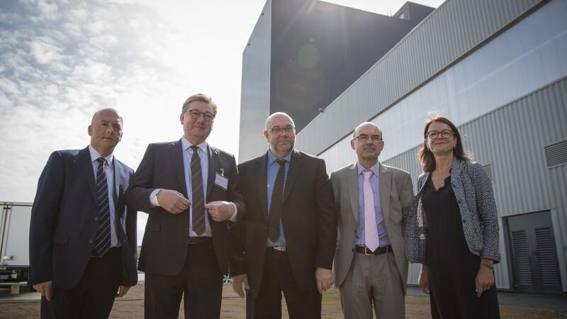 Fransk minister indvier dansk datterselskab
