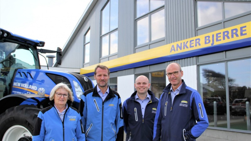 Lemvig Maskinforretning bliver til Anker Bjerre A/S