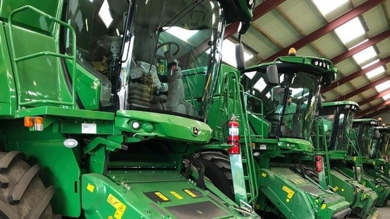 Semler Agro åbner center for brugte landbrugsmaskiner