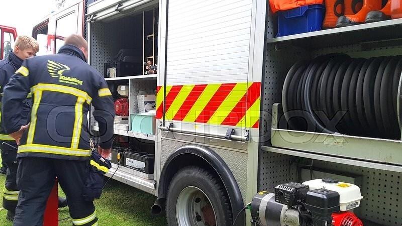 250 køer reddet fra brand