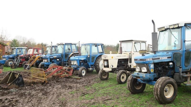 Dødsbo rummer unikke landbrugsmaskiner