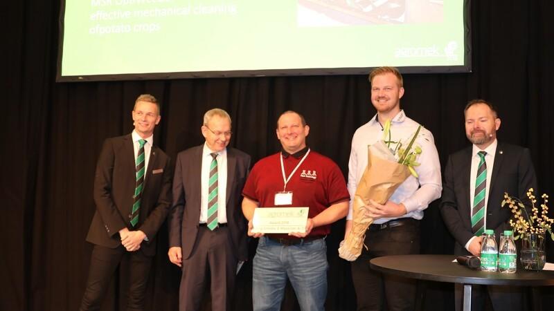 Agromek-award til højhastighedsrenser