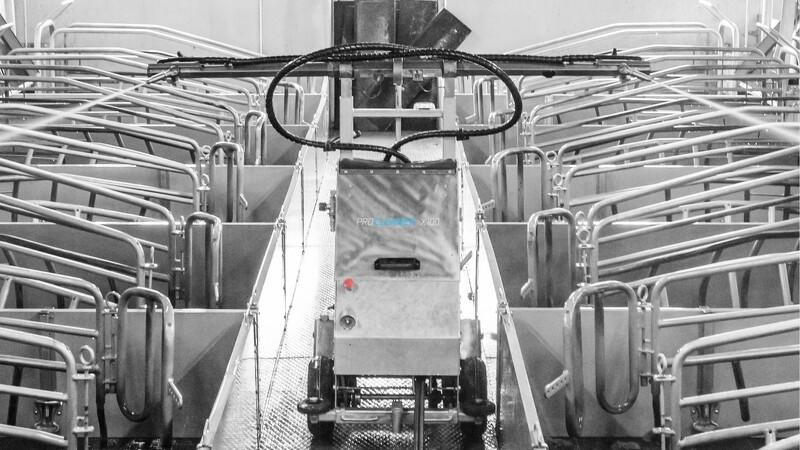 50 danske robotter vasker i Frankrig