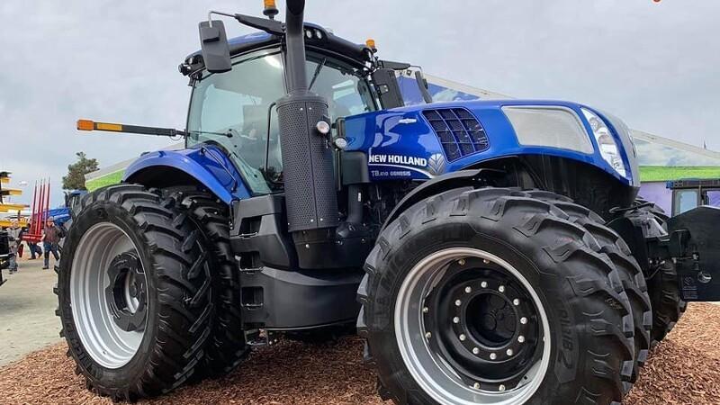 New Holland præsenterer ny T8-serie