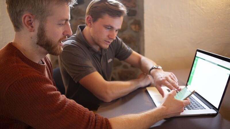 Digital dagligdag frister de unge landmænd
