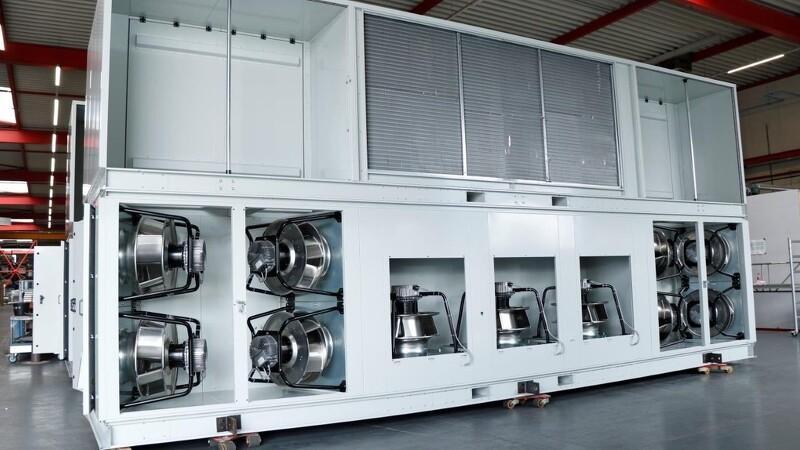 Design kan tørre, køle og ventilere kartofler og løg med udeluft