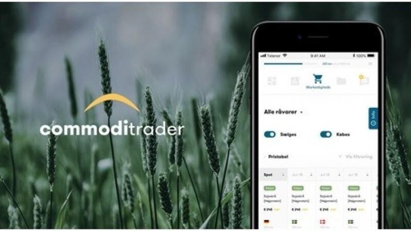 Commoditrader lancerer digital handelsplatform for korn og råvarer