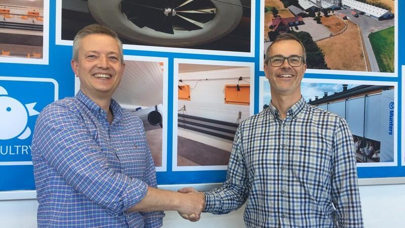 Nyt samarbejde sikrer service og løsninger til kyllingeproducenter
